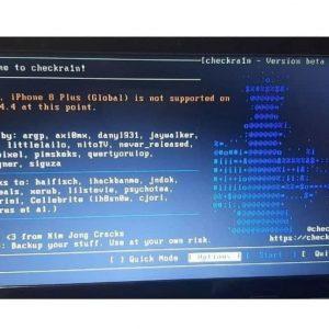 آمورش جیلبریک 8plus ios14.4.2 و رفع ارور Getting Passcode State